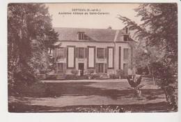 27322 SEPTEUIL , Ancienne Abbaye Saint Corentin - -L'Hoste Paris -chateau - Septeuil