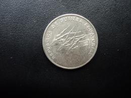 GUINÉE ÉQUATORIALE : 100 FRANCS  1985     KM 59      SUP - Aequatorial-Guinea