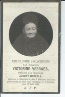 Victorine Verraes  O Kerkhove 3-02-1842  + Tiegem 19-06-1922 - Andachtsbilder