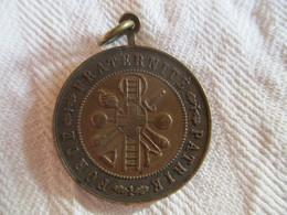 Suisse: Médaillette Fête Fédérale De Gymnastique Genève 1891 - Professionnels / De Société