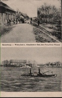 ! [67] Ansichtskarte Strassburg, Strasbourg Altenheimer Hof, Rhein, 1918 - Strasbourg