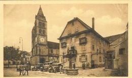 Cpa 68 GUEBWILLER , HOTEL DU CANON D'OR , VIEUX TACOTS. - Sonstige Gemeinden