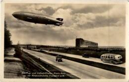 Luftschiffhafen Rhein Main - Hindenburg - Zeppeline