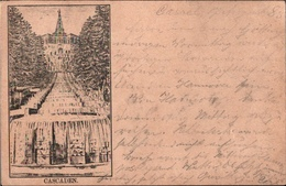 ! 1885 Alte Vorläufer Ansichtskarte Kassel , Stempel Göttingen, Hessen, Precuseur - Kassel