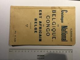 20E - Catalogue Timbres Belgique Congo édition 1938 - Non Classés