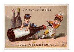 Rare Chromo Liebig S15, Enfants Avec Bouteille De Vin - Liebig