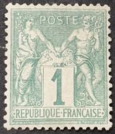 Sage N° 61 Neuf ** Gomme D'Origine Avec Bon Centrage  TTB - 1876-1878 Sage (Type I)