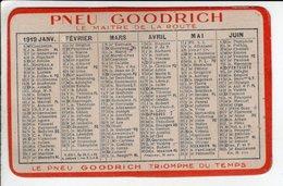 Calendrier 1919 Pneu Goodrich - Calendriers