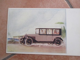 Car Automobili ITALA Fabbrica Automobili TOrino Tip. Vincenzo Bona Torino Vettura Epoca - Cartes Postales