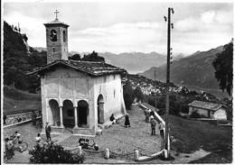 Madonna Del Ghisallo (Como). Chiesetta. Lambretta E Ciclisti. - Como