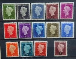 NEDERLAND  1947   Nr. 474 - 486  /  549      Postfris **    CW  111,50 - 1891-1948 (Wilhelmine)
