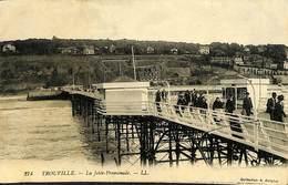 CPA - France - (14) Calvados - Trouville-Deauville - La Jetée Promenade - Trouville