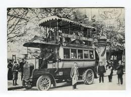 C.P °_ 75-repro-Bus Impériale 1900-Montmartre St.G Des Prés - Nahverkehr, Oberirdisch