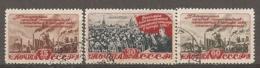 RUSSIE -  Yv N° 1234 à 1236   (o)  Plan Quinquénal   Cote  7,5 Euro  BE - 1923-1991 URSS