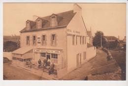 27337 LOCMARIAQUER. - Hôtel Du MENHIR - Ed Corlobé Kergosien -biere La Meuse - Locmariaquer