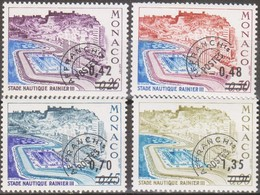 Monaco 1975 UnN°34-37 4v Preobliterati MNH/** Vedere Scansione - Préoblitérés