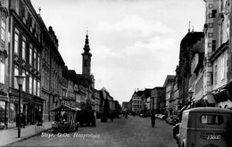Steyr , O. Oe / Hauptplatz /  Echte Fotographie - Steyr