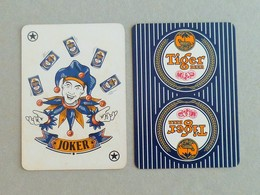 """Vintage ! 1 Pc. Tiger Beer Playing Card Joker """" Magic Clown """"  (#40) - Playing Cards (classic)"""