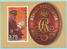 1118 - DENEMARKEN - DENMARK - POST & TELE MUSEUM - Poste & Facteurs