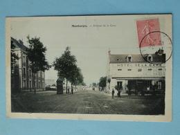 MONTARGIS  (Loiret) -- Hôtel De La Gare - ANIMEE - Montargis