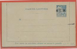 SAINT PIERRE ET MIQUELON ENTIER POSTAL CL1 NEUF - St.Pierre Et Miquelon