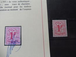 Rouleaux 7 Avec Certificat Neuf ** / Rolzegels Met Certificaat Pierre Kaiser ( 1027B ) - Rouleaux
