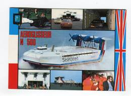 C.P °_ Transport-Aéroglisseur N.500-Seaspeed-France.Angleterre-1981 - Cartes Postales
