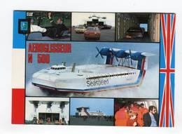 C.P °_ Transport-Aéroglisseur N.500-Seaspeed-France.Angleterre-1981 - Postkaarten