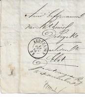 Lettre D'AUDENARDE Du OCT 1868 Avec Contenu - Belgique