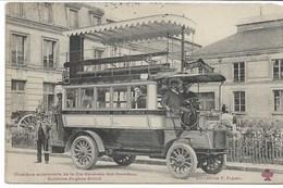 CPA PARIS Omnibus Automobile De La Cie Générale Es Omnibus Système Eugène Brillié - Transport Urbain En Surface