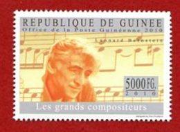 Z005 Leonard Bernstein  Componist. Guinee - Guinée (1958-...)