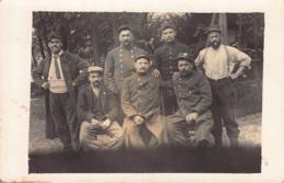 LUCAY Le MALE ( 36) -LOT De 2 Cartes Photos De L'hopital Militaire En 1914  (meme Correspondance ) - Other Municipalities
