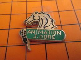 620 Pin's Pins / Beau Et Rare / THEME : ANIMAUX / CHEVAL MICRO ANIMATION J DORE Par MARC POTIRON - Animaux