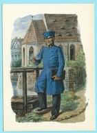 1123 - DUITSLAND - GERMANY - POSTBODE - POSTMAN - FACTEUR - MAILMAN - Poste & Facteurs