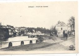 DOLE . PONT DU CANAL + 1 MILITAIRE A CHEVAL . CARTE ECRITE AU VERSO - Dole