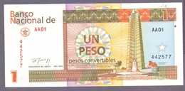 Kuba, 1 Peso 1994, Unc. - Cuba