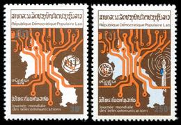 Laos 1979 - YT 326/327 ; Mi 472A/473A  ** MNH  UIT - Laos