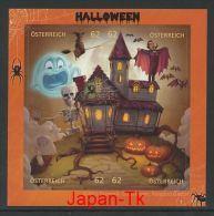 ÖSTERREICH Mi.Nr. Block 78 Comicmarken-Puzzle - Halloween - MNH - 2011-... Ungebraucht