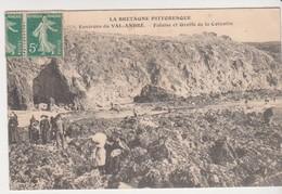 27343 22 Val André Environs .. Falaise Et Grotte De La Cotentin -sans Ed - - Pléneuf-Val-André