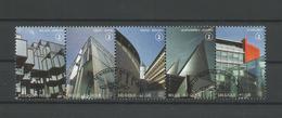 Belgium 2011 Court Houses Strip OCB 4160/4164 (0) - Belgique