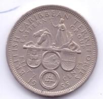 EAST CARIBBEAN STATES 1955: 50 Cents, KM 7 - Caraïbes Orientales (Etats Des)
