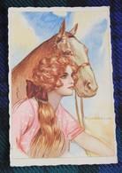 Corbella : Femme Et Son Cheval - Corbella, T.