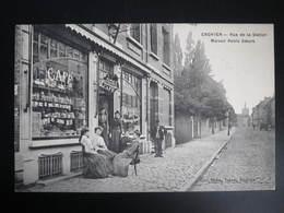 ENGHIEN  - Rue De La Station Café Commerce ,Maison Rebts Soeurs - Enghien - Edingen