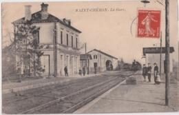 Bx - Cpa SAINT CHERON - La Gare - Saint Cheron