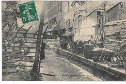 CPA PARIS 13 ème Arrondissement La BIEVRE Passage MORET N°211-blanchisseurs - Arrondissement: 13