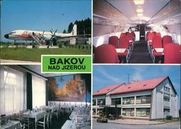 Backofen An Der Iser Bakov Nad Jizerou 4 Bild Flugzeug Gasthaus 1989 - Tchéquie