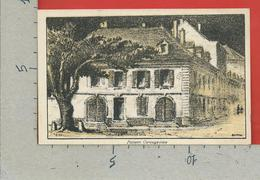 CARTOLINA NV SVIZZERA - Maison Carougeoise - Lith. F. Gallay Geneve - 9 X 14 - GE Geneva
