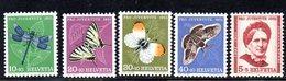 352/1500 - SVIZZERA 1951 , Unificato N. 512/516  ***  MNH  Pro Juventute - Neufs