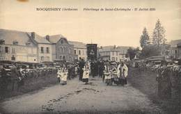 CPA 08 ROCQUIGNY PELERINAGE DE SAINT CHRISTOPHE  27 JUILLET 1924 - Other Municipalities