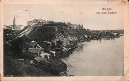 ! Alte Ansichtskarte Grodno, Feldpostkarte N. Helmstedt, 1918 - Bielorussia